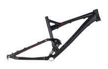 VOTEC V.SX Enduro 165 mm Rahmen schwarz-matt